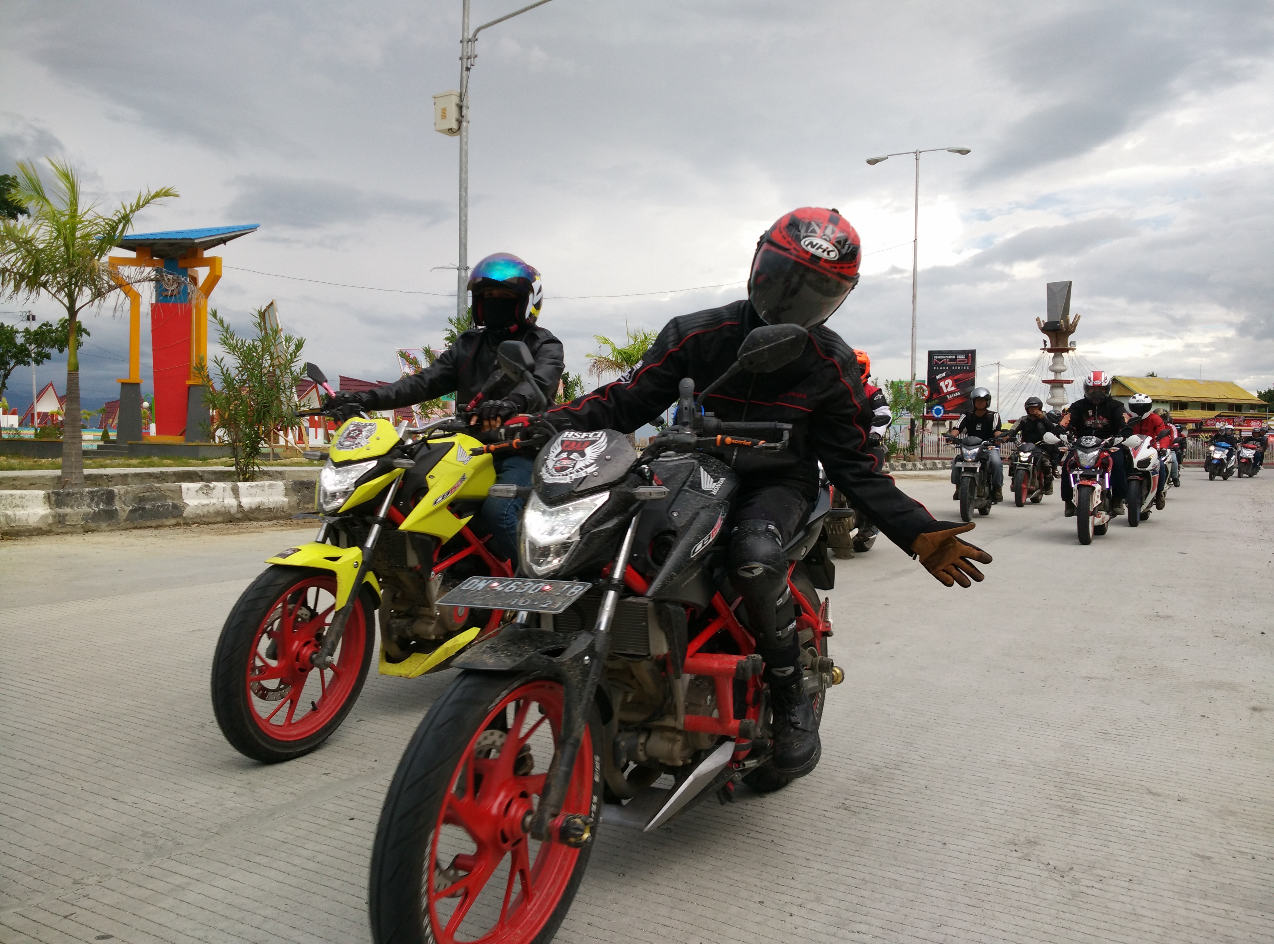 Touring Wisata Bahari Bersama Honda All New CB150R