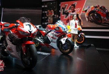 Booth Honda IMOS 2016
