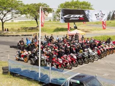Track Day Honda CBR Community di Medan