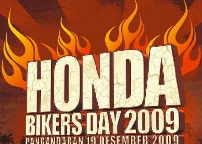 Honda Bikers Day 2009, Pangandaran Jadi Saksi Bisu
