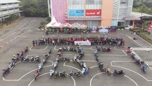 Pererat Tali Persaudaraan, Honda Beat Club Indonesia Gelar Halal Bi Halal