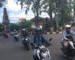 Konvoi Merdeka Bersama Honda Community Bali, Bukan Konvoi Biasa! Anak SD Juga Ikutan Bro!