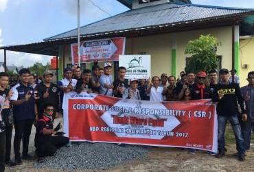 CSR di Honda Bikers Day (HBD) 2017 region Kalimantan
