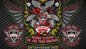 Undangan 3rd Anniversary Verza Riders Community Indonesia Region Cianjur