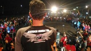 Bikers CBR Jawa Barat Meriahkan Jamnas Asosiasi Honda CBR Di Semarang