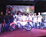 Astra Motor Launching Honda All New  CRF150L di Sintang bersama komunitas trail