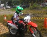 Launching and test ride all new Honda CRF150L. Motor trail bersahabat.