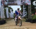 Honda Fun Off Road Touring, Konsumen Jelajahi Jalur Off Road Bukit Hambalang