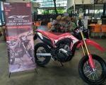 Komunitas West Borneo Lihat Lebih Dekat Honda CRF150L Supermoto