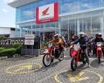Pecinta Motor Sport Ramaikan Gelaran Supermoto Street Gathering Yogyakarta