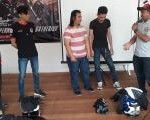 Ketum AHJ Ikut Meramaikan Acara Supermoto Street Gathering CRF150L