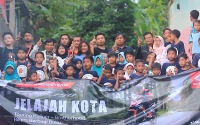 Supra GTR150 Jelajah Kota HSO Mataram