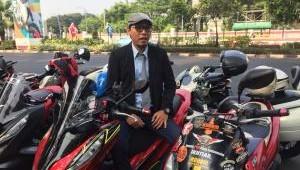 PCX Scooter Ride. Bikers Ini, Katanya Paling Modis di Komunitasnya.