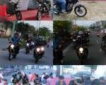Lapak Bikers Verza untuk Komunitas dalam Launching CB Verza150 di Taman Berlabuh, Kota Tarakan