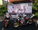 Sorak Sorai Pendukung 93 di Event HSO Nobar MOTOGP Honda West Borneo Community