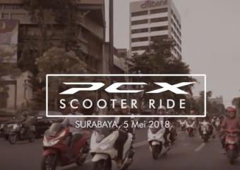 PCX Scooter Ride Jatim