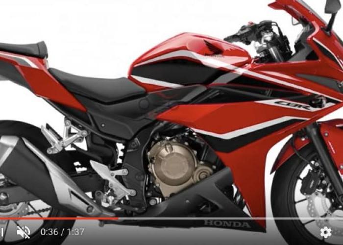 Penampakan Honda CBR 500R Terbaru, Makin Tajam Bro!