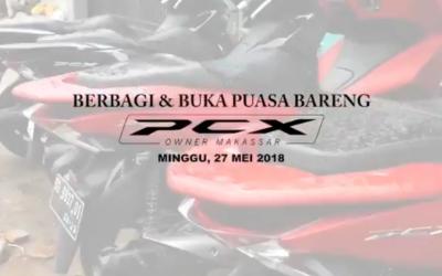 Berbagi dan Buka Puasa Bareng PCX Owner Makassar