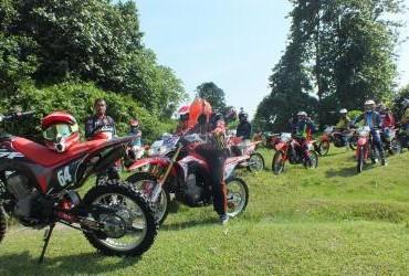 CRF150L National Honda Roadventure pada 8 Juli 2018 di Lebo - Lebo