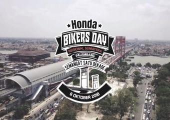 Honda Bikers Day (HBD) 2018 regional Sumatera-Palembang