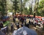 Mojosemi Forest Park dipadati  Rider Keluarga Honda Verza