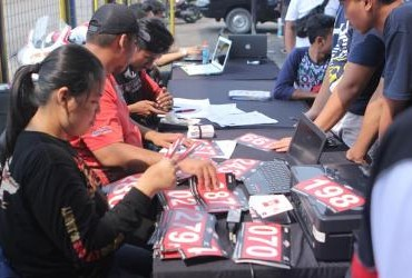 Indonesia CBR Race Day 2018 Seri 2 - Registrasi
