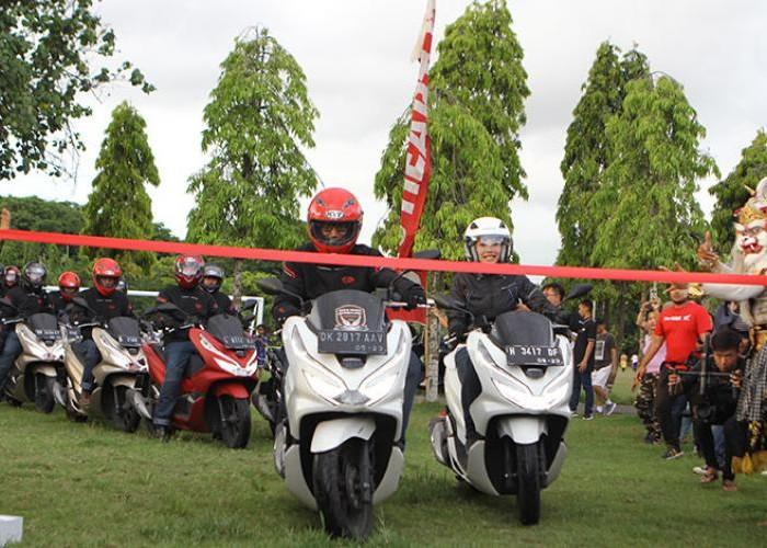 PCX Luxurious Trip 2018 (Finish), Akhir Perjalanan Panjang, Riders Disambut Meriah Management AHM