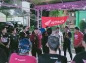 Bikers Camp & Manajemen Club Sumut Honda Bikers 2-3 Februari 2019 di Berastagi