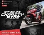 PCX charity ride