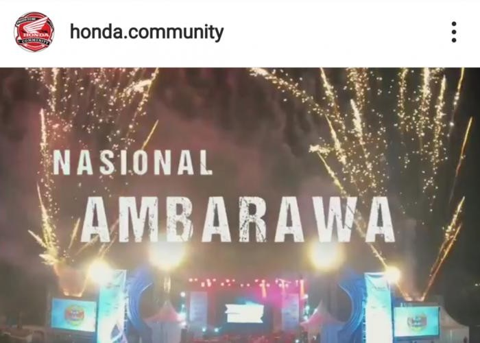 Breaking News.!! Honda Bikers Day (HBD) 2019 Nasional di Ambarawa.