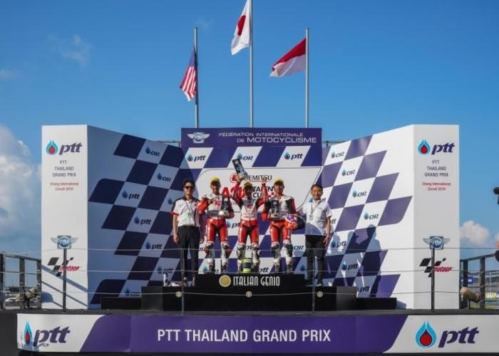 Dua Pebalap Astra Honda Kibarkan Merah Putih di ATC Thailand