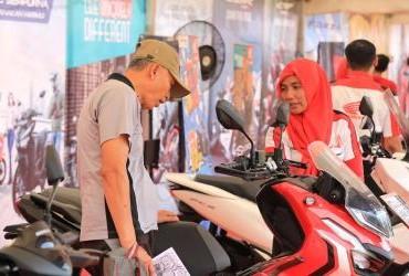 Honda Bikers Day (HBD) 2019 Regional Kalimantan - Booth