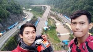 Cerita Bikers HSOI Banten Touring Galau Lintas 4 Provinsi di Pulau Sumatra
