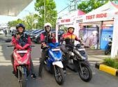 Launching Honda New BeAT di Padang