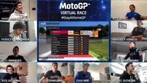 Alex Marquez Menangi Balapan MotoGP Virtual Race