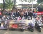 Beginilah Keseruan Para Komunitas HPCI & AHPC Tangerang Saat Ikuti PCX Luxurious Ride.