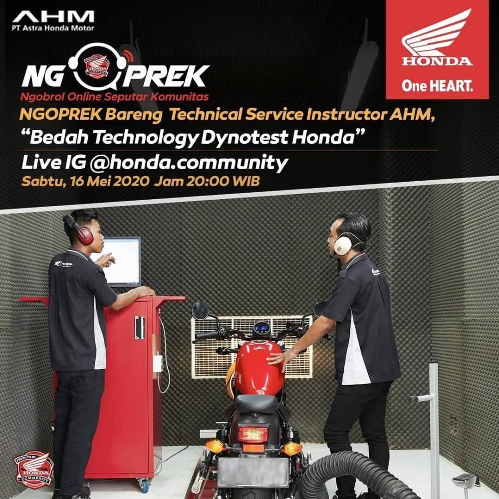 Ngoprek Bareng Technical Service Instructor AHM