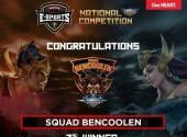 Pemenang Honda Community Esports National Mobile Legends Competition 2020