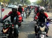 Persaudaraan Tanpa Batas Ikatan Motor Honda Kalselteng