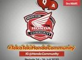 Teka Teki Honda Community - Part 3