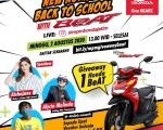 1000 Anak Muda Bakal Live  Instagram Di Back to School with BeAT
