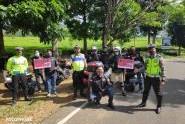 Meriahkan Anniversary Ke-2Thn, HPCI Palembang Bersama Polantas Serukan