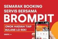 Service Di AHASS Tanpa Antri Dengan Booking Di BromPit