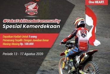 Teka Teki Honda Community Spesial Kemerdekaan