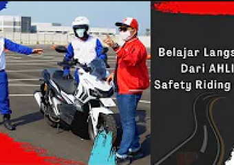 Belajar Langsung Dari Astra Honda Safety Riding Instructor