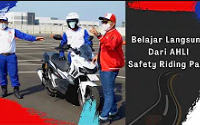 Belajar Langsung Dari Astra Honda Safety Riding Instructor