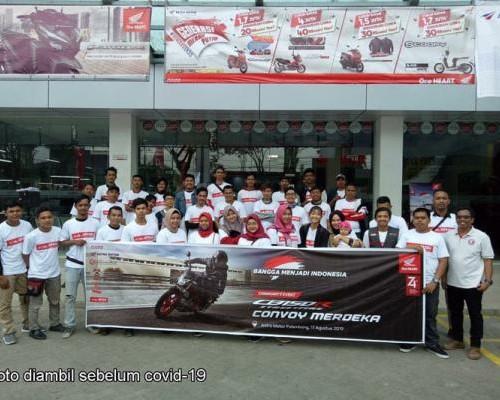 Profile Asosiasi Honda Motor Palembang (AHMP)