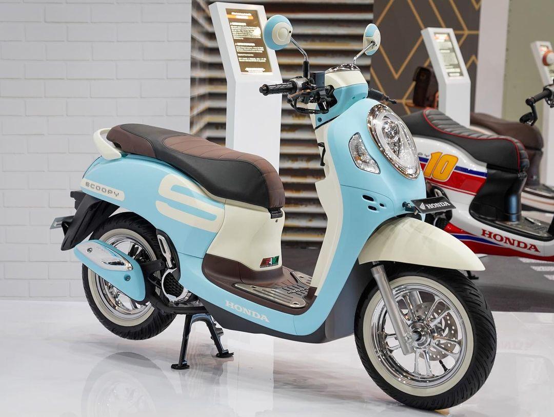 All New Honda Scoopy Custom Bike Fashionable