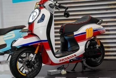 All New Honda Scoopy Custom Bike Cafe Racer