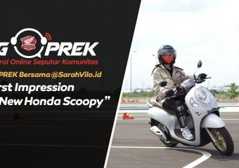 NGOPREK: First Impression All New Honda Scoopy Bareng Sarah Viloid